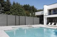 clôture et portillon aluminium