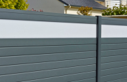 clôture jardin et claustras alu