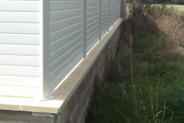 Panneau brise vue en claustra aluminium ALULAM.