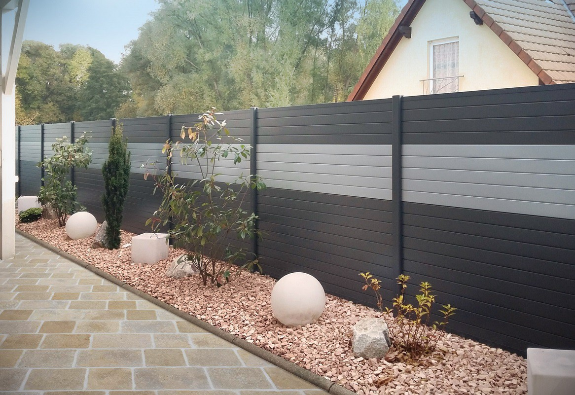 Cloture Jardin Quel Type Choisir Alulam Cloture Aluminium