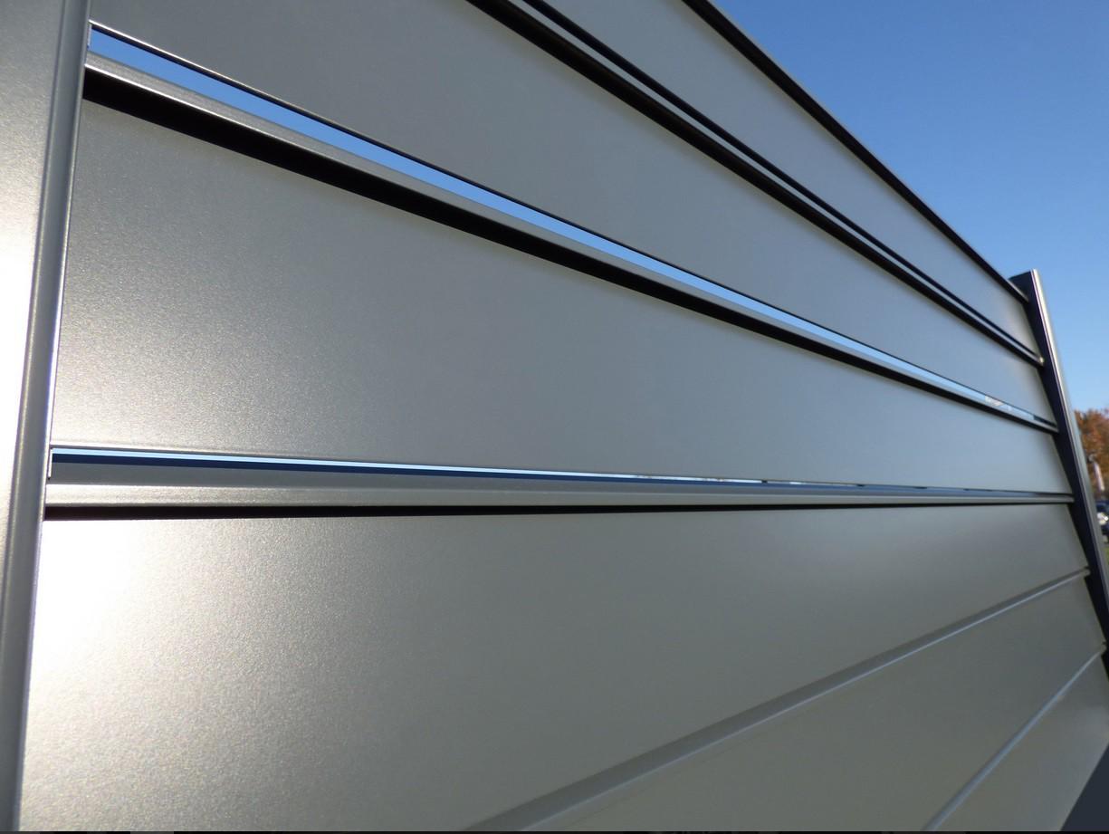 Panneaux Brise Vue Aluminium Alujour Avec Rendu Ajouré Ou