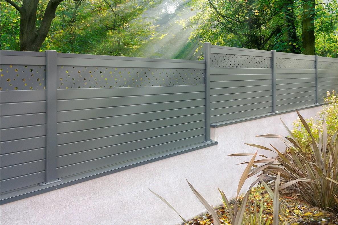 Clôture jardin, quel type choisir ? ALULAM, clôture aluminium